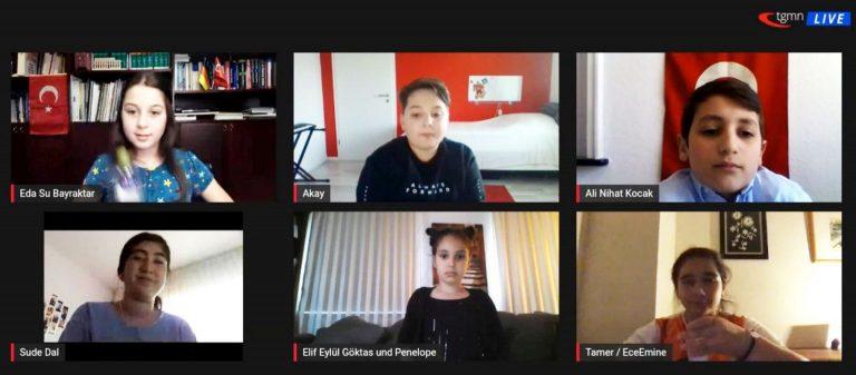 23 Nisan Ulusal Egemenlik Çocuk Bayramı Dijital Ortamda Kutlandı