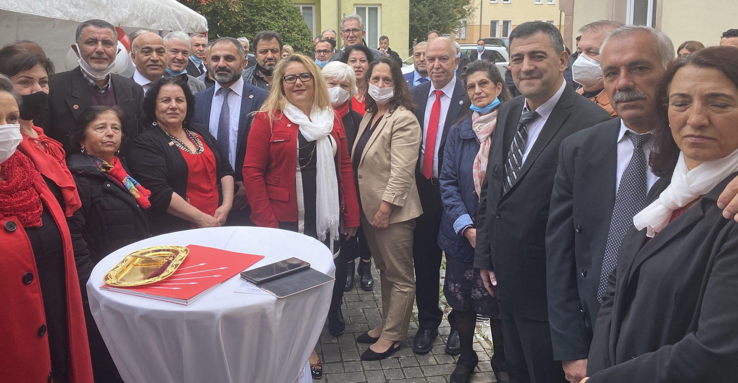 CHP Kuzey Bavyera Birliği, Yeni Ofisinden Hizmet Verecek