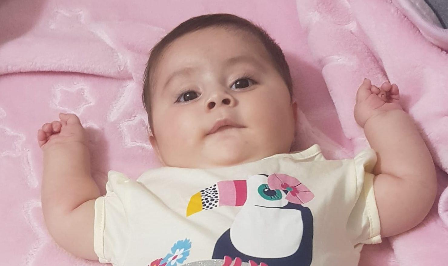 SMA Hastası Sevinç Nur Bebek yaşamak için yardım bekliyor