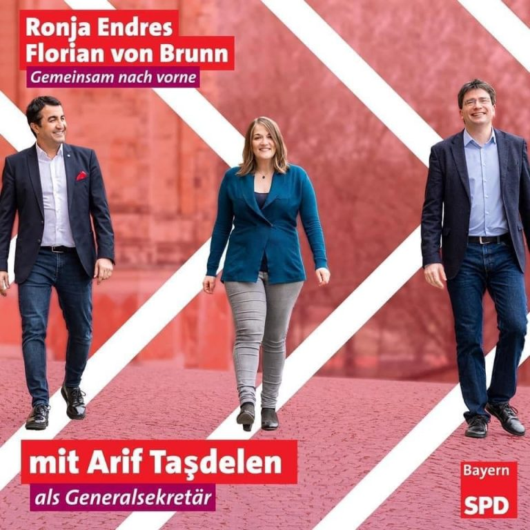 Milletvekili Arif Taşdelen, Bavyera SPD Genel Sekreteri oldu.