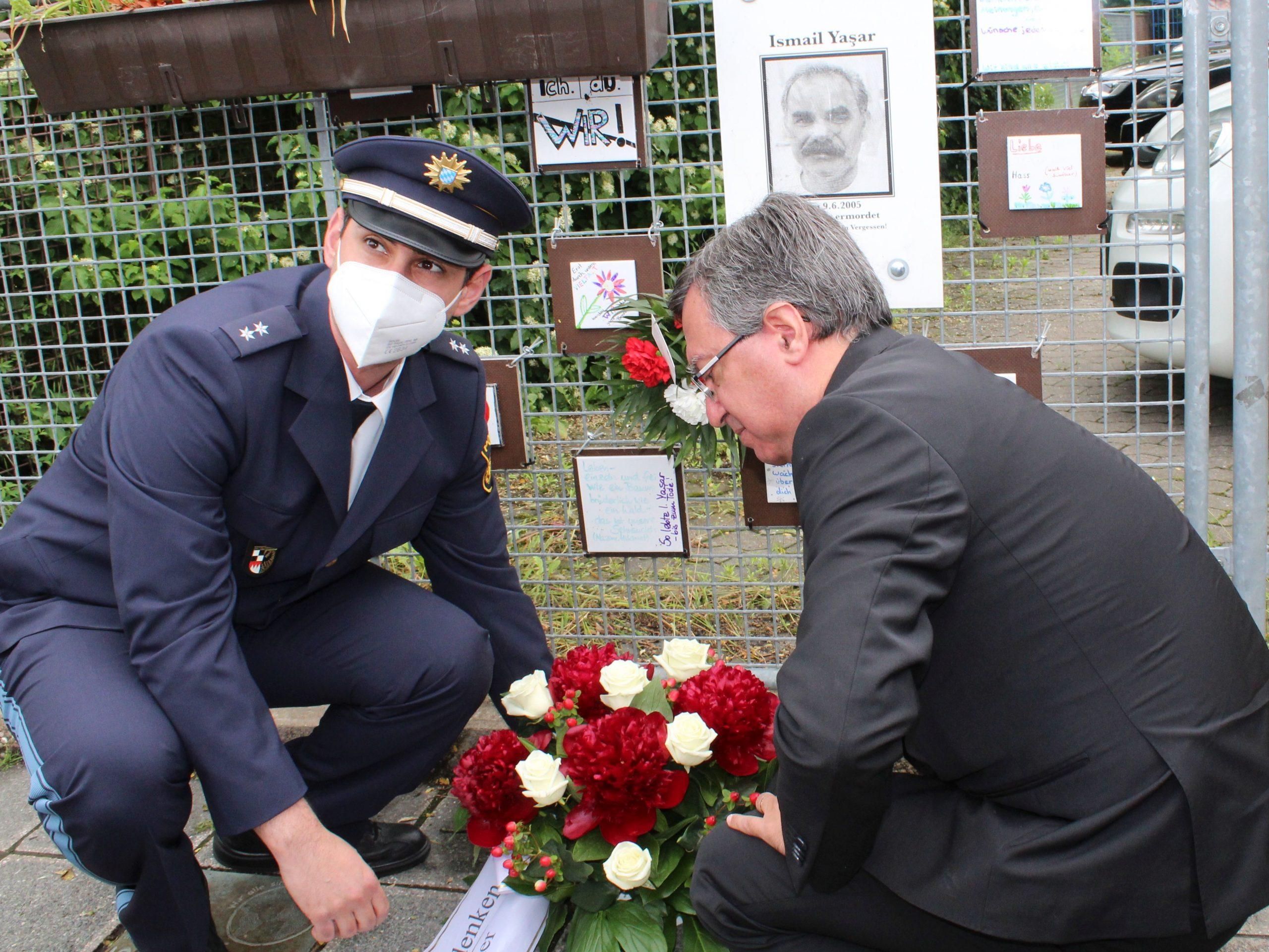 NSU Kurbanı İsmail Yaşar düzenlenen törenle anıldı